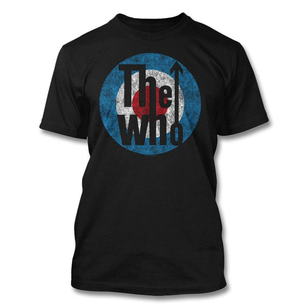 Distressed Classic Target T-shirt - The Who Official Online Store - 1