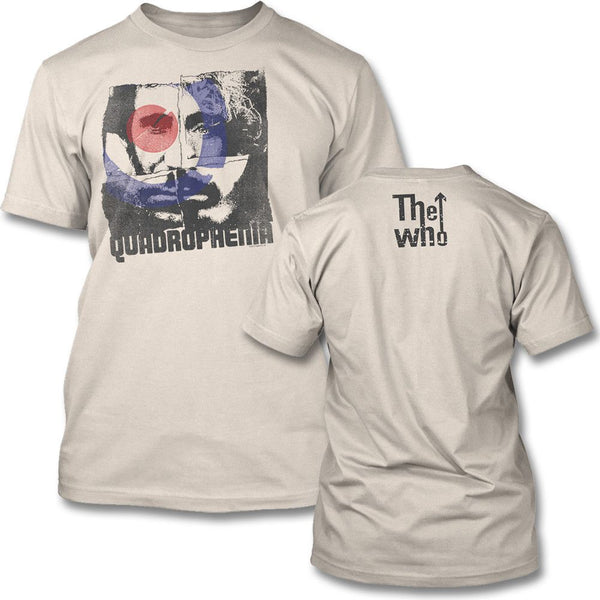 Four Square T-shirt (Natural) - The Who Official Online Store - 1