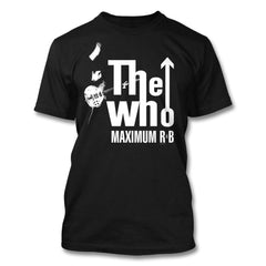 Maximum R & B T-shirt (Black) - The Who Official Online Store - 1