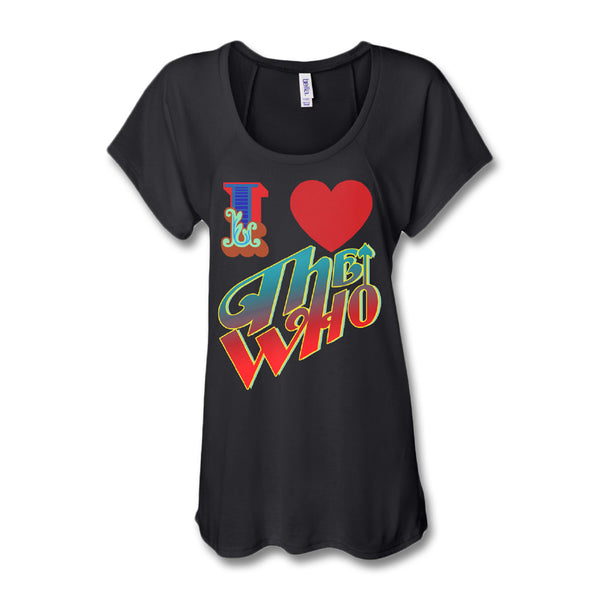I Heart The Who T-shirt - Women's - The Who Official Online Store