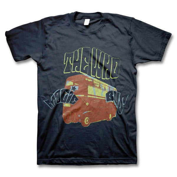 Magic Bus Toddler Tee (navy) - The Who Official Online Store