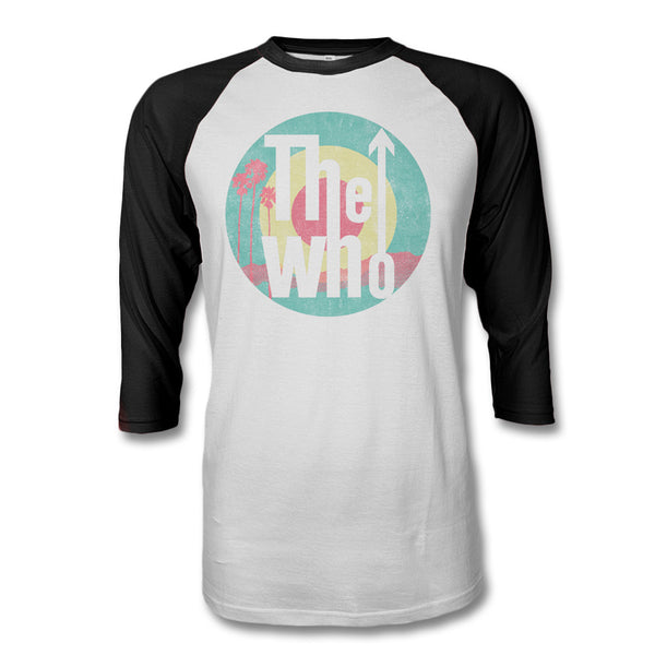 The Who Palm Target Raglan - The Who Official Online Store
