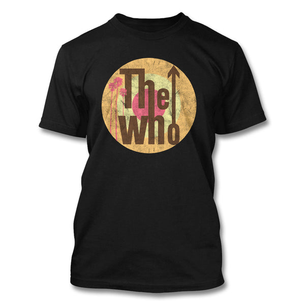 Palms Classic Logo T-shirt - Men's - The Who Official Online Store