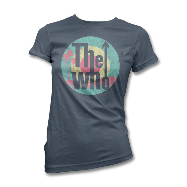 Palms Classic Logo T-shirt - Women's - The Who Official Online Store