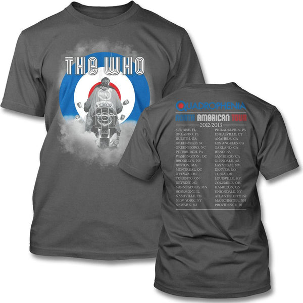 2013 Smoke Tour T-shirt - The Who Official Online Store - 1