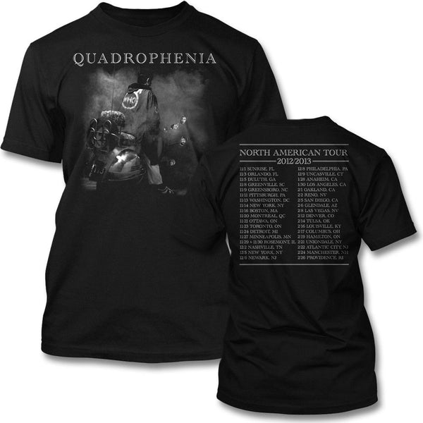 Quad 2013 Tour T-shirt - The Who Official Online Store - 1