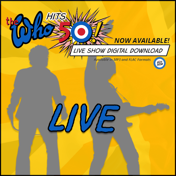 The Who Live - Jacksonville, FL USA - 4.19.15 - Digital Download - The Who Official Online Store