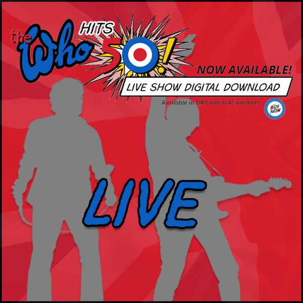 NEW! The Who Live - Minneapolis, MN USA - 5.1.16 - Digital Download - The Who Official Online Store