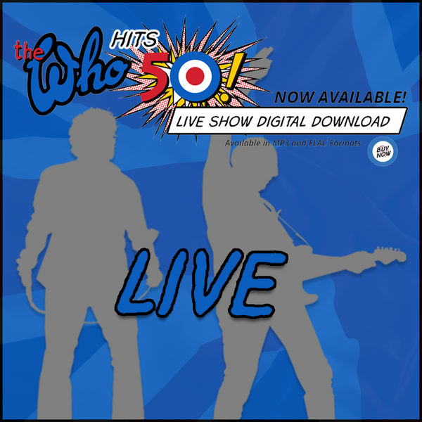 NEW! The Who Live - Bologna, Italy - 9.17.16 - Digital Download - The Who Official Online Store