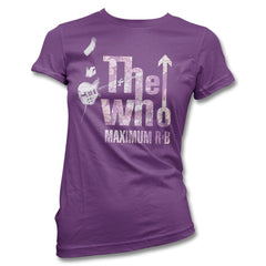 Maximum Flowers T-shirt - Women's - The Who Official Online Store - 1