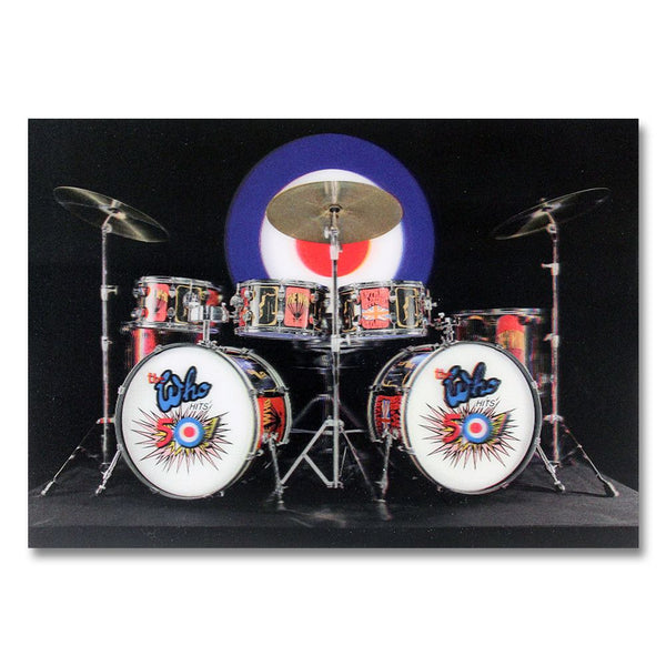 3D Drumset Photo - The Who Official Online Store