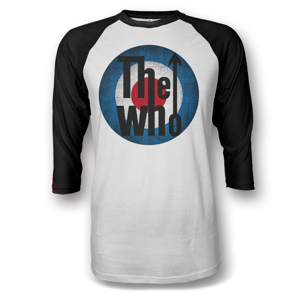 Classic Logo Raglan T-shirt - 2016 Tour Exclusive - The Who Official Online Store