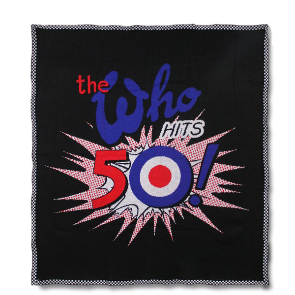 The Who 50th Anniversary Blanket - 2016 Tour Exclusive - The Who Official Online Store - 1