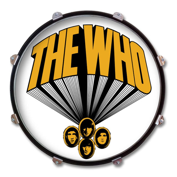 Lily Logo Drum Display - The Who Official Online Store - 1