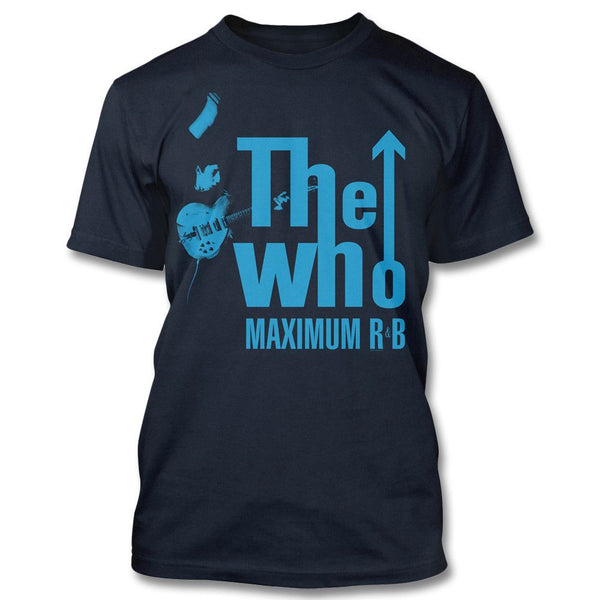 Maximum R&B Navy T-shirt - The Who Official Online Store - 1
