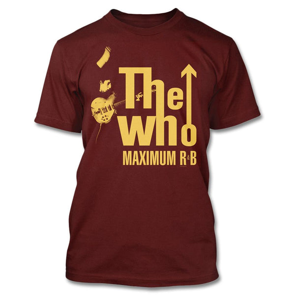 2016 Tour Exclusive - Maximum R&B T-shirt - The Who Official Online Store - 1