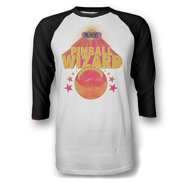 Pinball Wizard 2016 Official Raglan Tour Shirt - The Who Official Online Store - 1