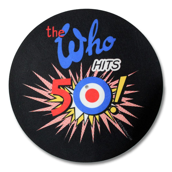 50th Logo Slipmat - The Who Official Online Store