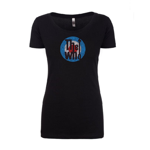 Bling Classic Logo T-shirt - Women's - The Who Official Online Store - 1
