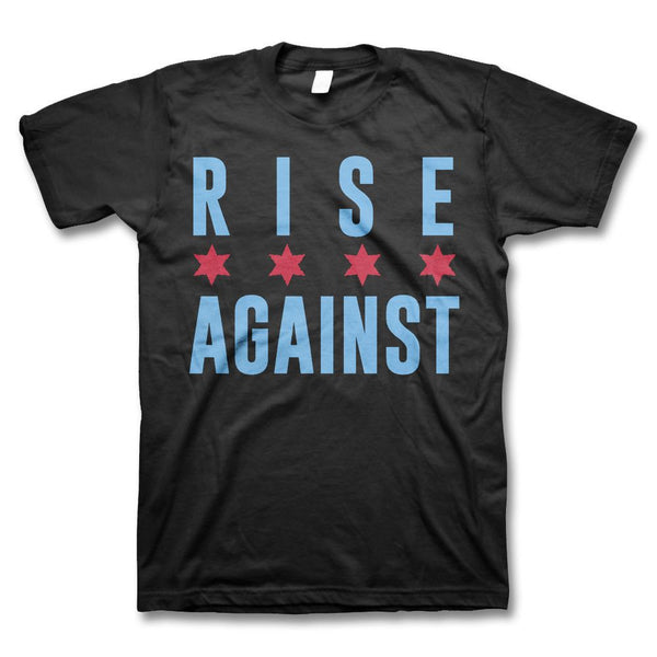 Chicago Flag T-shirt - Rise Against Official Online Store