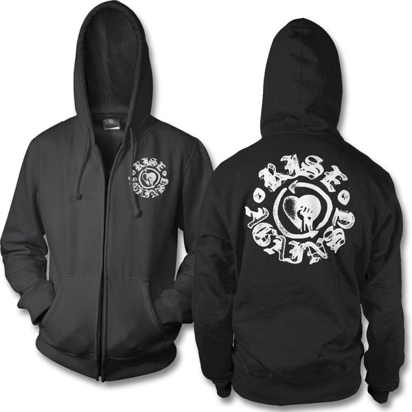 Fist Stamp Zip Hoodie - Rise Against Official Online Store