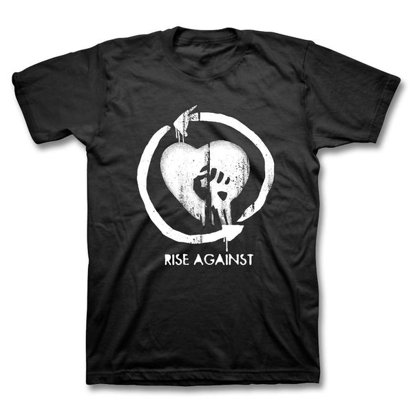 Heartfist Toddler Tee - Black - Rise Against Official Online Store