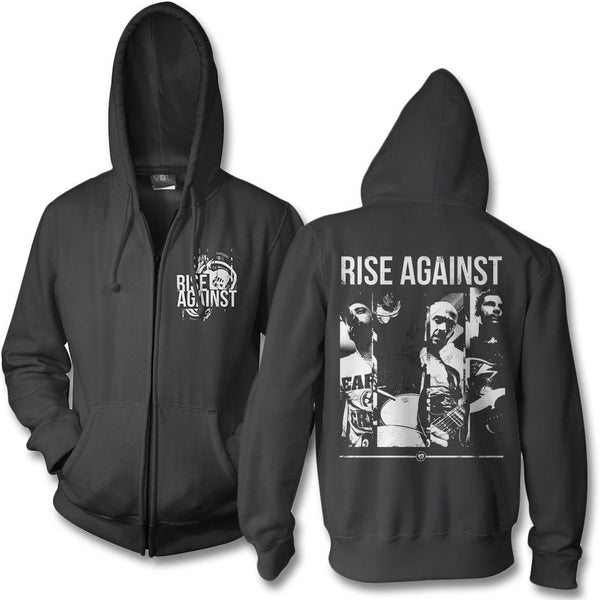 Studio Photo Zip Hoodie - Rise Against Official Online Store
