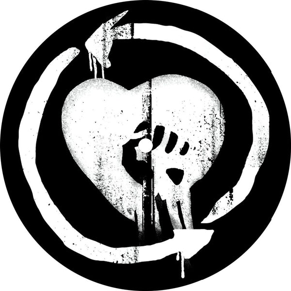 "Heartfist Turntable Mat - 7"" - Rise Against Official Online Store"