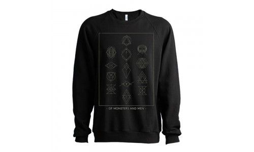 Symbols Men's Crewneck Sweatshirt - Of Monsters and Men Official Store - 1