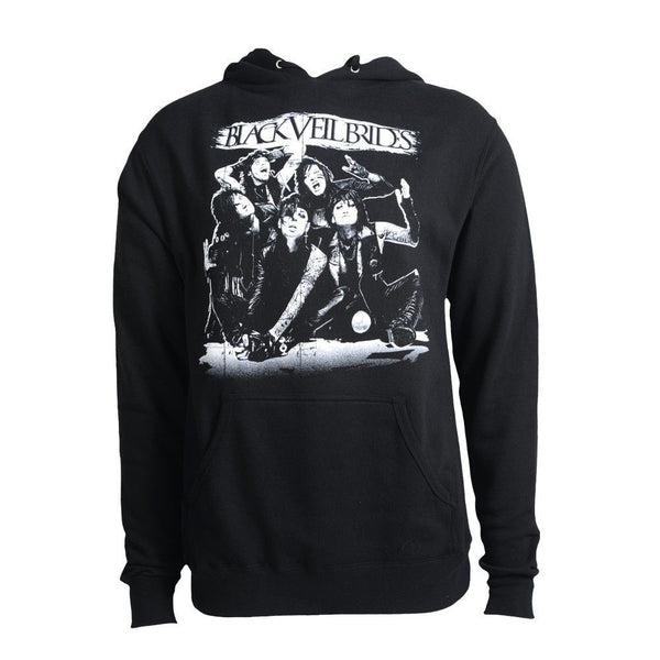 Reverse Shadow Pullover Hoodie - Black Veil Brides Official Store - 1