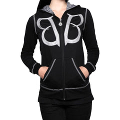 Stitched Together Hoodie - Women's - Black Veil Brides Official Store - 1