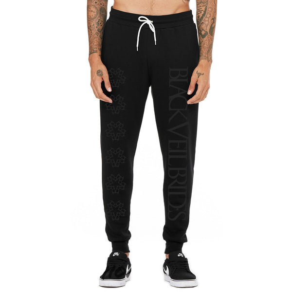 Pentagram Logo Joggers - *Black Friday Edition* - Black Veil Brides Official Store