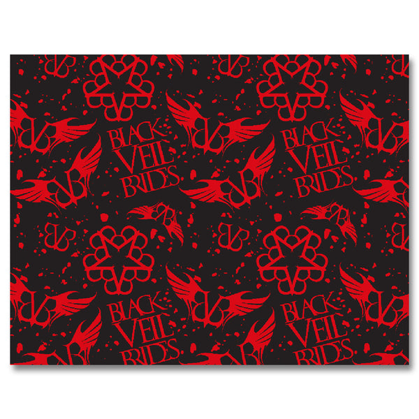 Black Veil Wrapping Paper - Black Veil Brides Official Store