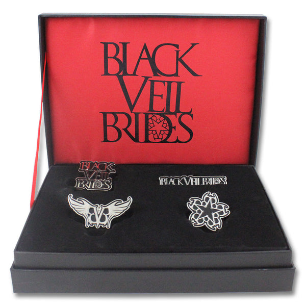 BVB Pin Box Set - Black Veil Brides Official Store - 1