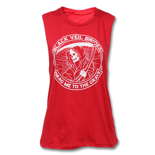 Reaper Muscle Tank - Women's - Black Veil Brides Official Store