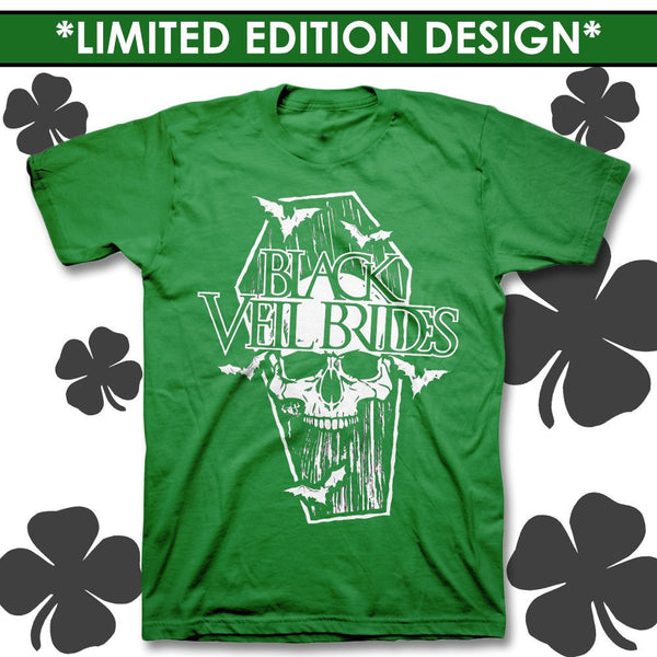 *Limited Green Coffin T-shirt* - Black Veil Brides Official Store - 1