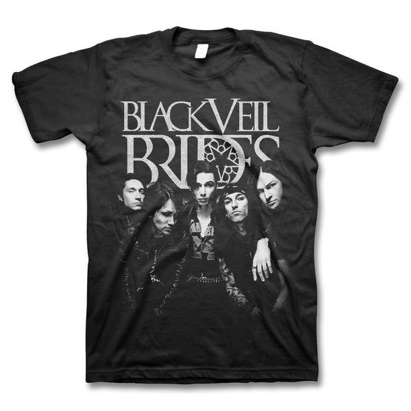 Big Photo T-shirt - Black Veil Brides Official Store