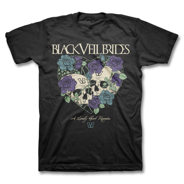 Lonely Heart T-shirt - Black Veil Brides Official Store