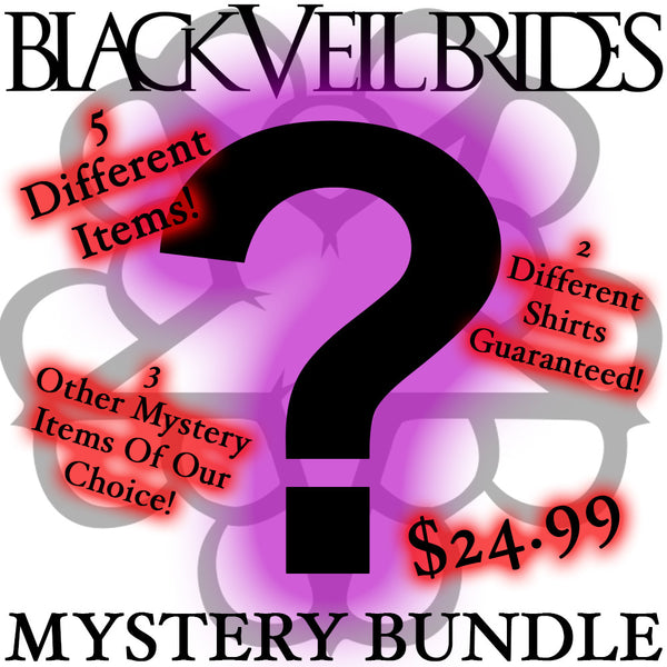 Official Black Veil Brides 5 Piece Mystery Bundle