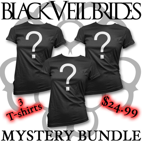 Official Black Veil Brides T-shirt Mystery Bundle
