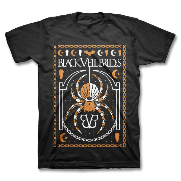 Limited Merry Halloween T-shirt - Black Veil Brides Official Store - 1