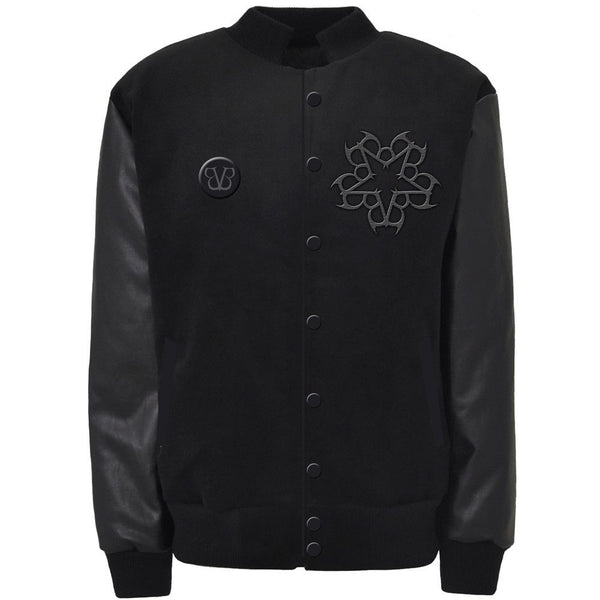 Pentacharm Class Letterman Jacket - Black Veil Brides Official Store - 1