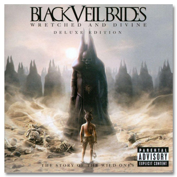 Wretched & Divine - Deluxe Edition CD/DVD - Black Veil Brides Official Store