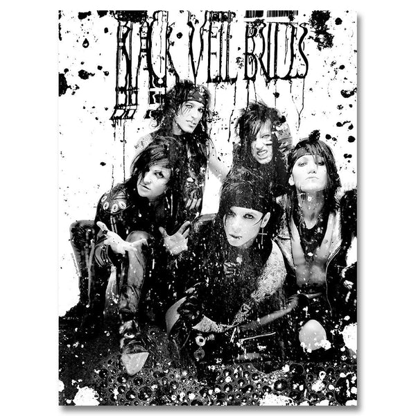 Blackened Sludge Poster - Black Veil Brides Official Store