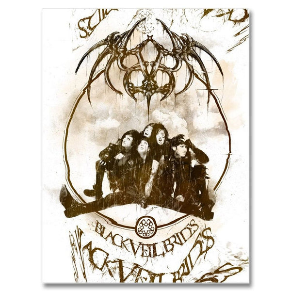 Demon Cleaner Poster - Black Veil Brides Official Store