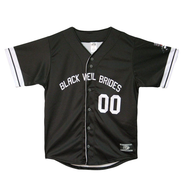 Mr. Legion Baseball Jersey - Black Veil Brides Official Store - 1