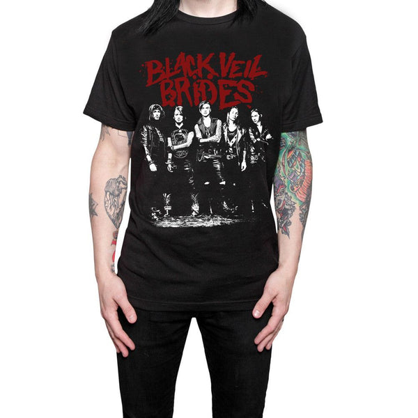 Red Logo T-shirt - Black Veil Brides Official Store