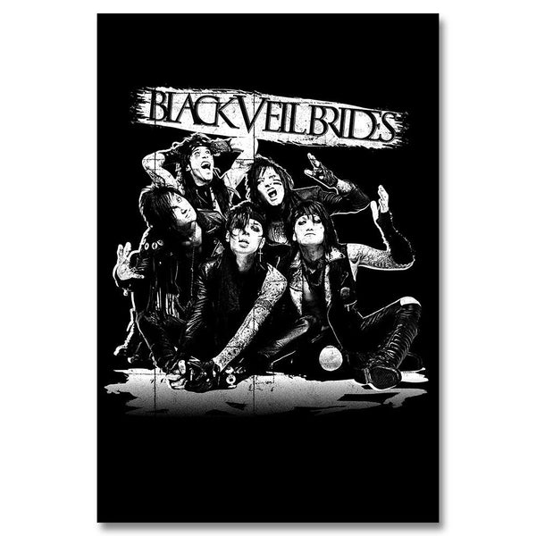 Reverse Shadow Poster - Black Veil Brides Official Store