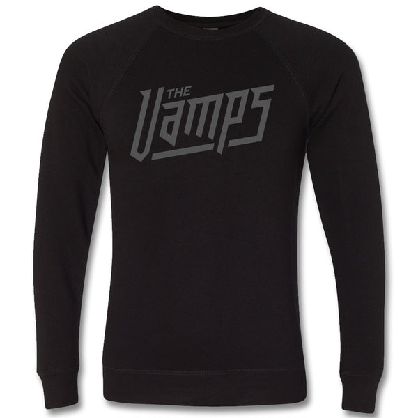 Rock Logo Lightweight Crewneck Sweatshirt - The Vamps Official Online Store