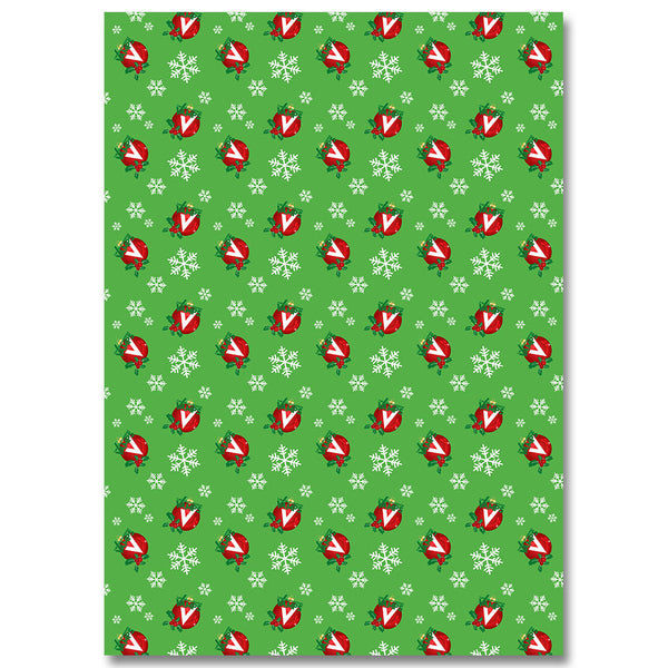 Official The Vamps Holiday Wrapping Paper (3pcs)